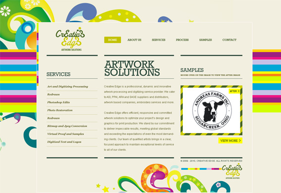 Creative Edge, Artwork Solutions